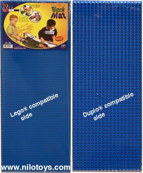 Blue Nilo 174 2 Sided Lego Duplo Baseplates Nilo 174 Play Tables