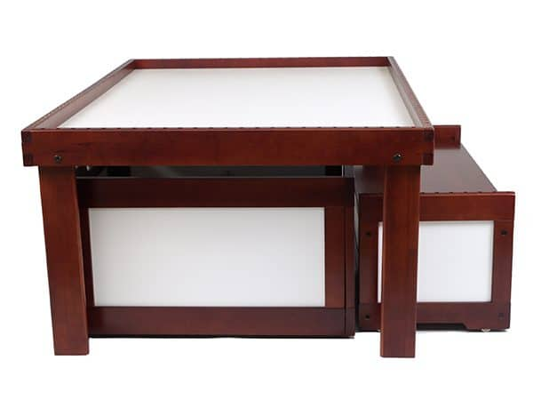 Nilo N51D table, Storage Bin and Toy Chest